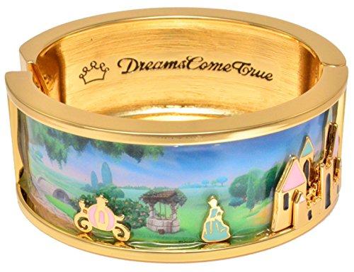 (Disney Couture Icon Cinderella Dreams Come True Bangle Bracelet)