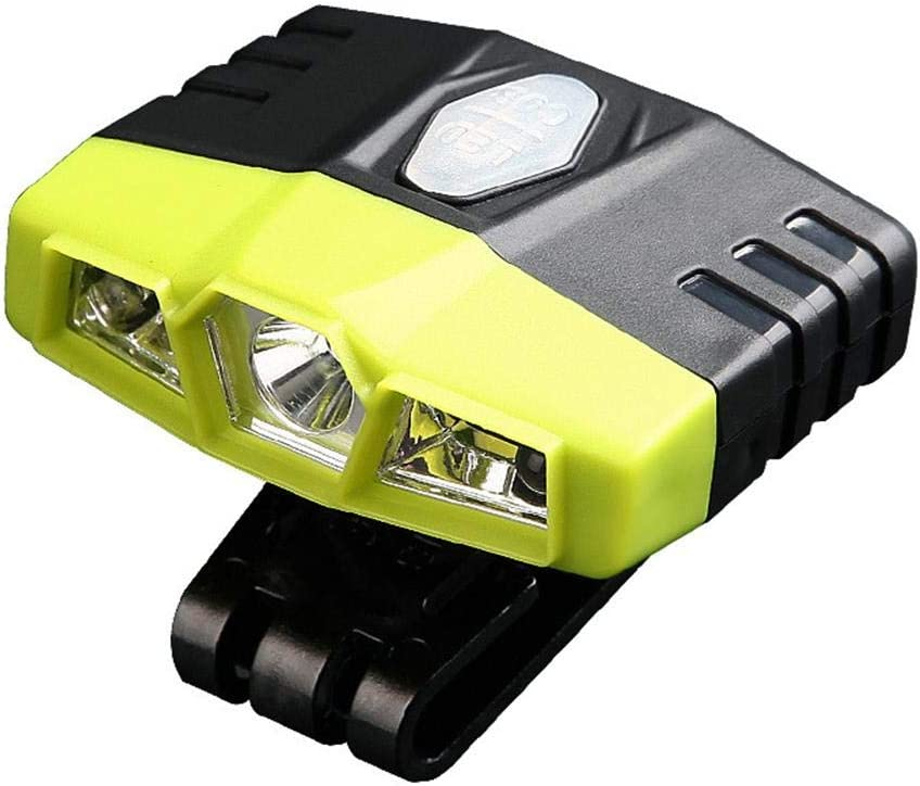 Blue-Yan LED Stirnlampe Scheinwerfer Wiederaufladbare Wasserdichte 2000 Lumen Hohe Helle Scheinwerfer Taschenlampe F/ür Schutzhelm Camping Laufen Angeln