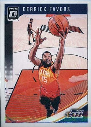 48dea16878a38 Amazon.com: 2018-19 Donruss Optic #83 Derrick Favors Utah Jazz NBA ...