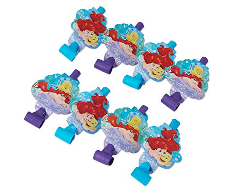 he Little Mermaid Party Blowers (8 Pack) (Little Mermaid Party Game)