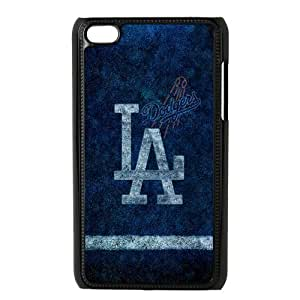 Customize MLB Los Angeles Dodgers Back Case for ipod Touch 4 JNIPOD4-1308