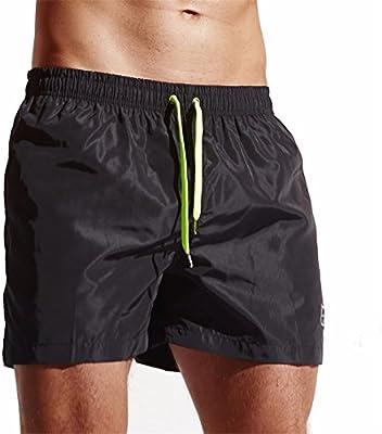 Amazon.com  Men s Shorts Swim Trunks MOSE Fashion Men s Quick Dry Barracuda  Beach Swim Trunks Surfing Running Swimming Water short Trunk (Black 6f945ec21