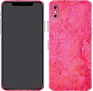Switch iPhone X Skin Dazzle Pink Marble
