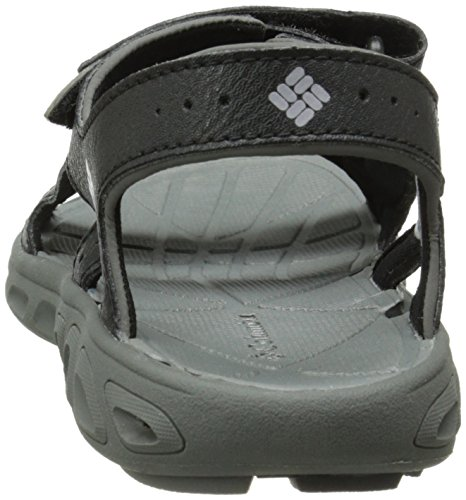 Columbia Black Boy's Grey TECHSUN Vent Black Youth Sandals Columbia 7qRUnwrx7