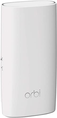 NETGEAR Orbi Wall-Plug Whole Home Mesh WiFi Satellite Extender – works with your Orbi router to add 1,500 sq. feet of coverage at speeds up to 2.2 Gbps, AC2200 RBW30
