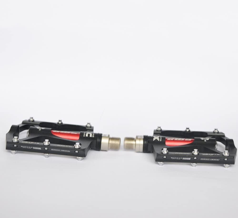 UPANBIKE P/édales avec Triple Aluminium Broche 22,86//40,64 cm pour VTT et v/élos de Route Ultra l/égers