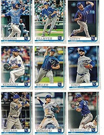brand new b820d a6291 Kansas City Royals/Complete 2019 Topps Series 1 Baseball ...