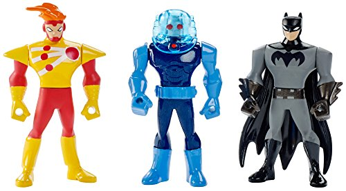 DC Comics Justice League Action Mighty Batman, Firestorm, & Mr. Freeze Mini Figures, 3 pack