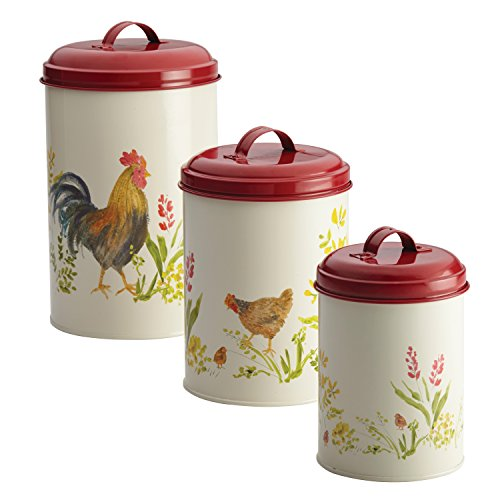 country kitchen canisters sets country kitchen canister sets gift for country 6012