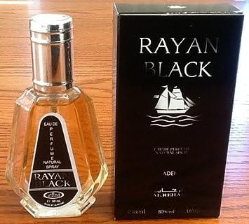 Rayan Black – Al-Rehab Eau De Natural Perfume Spray – 50 ml 1.65 fl. oz – 6 pack