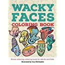 Wacky Faces Coloring Book