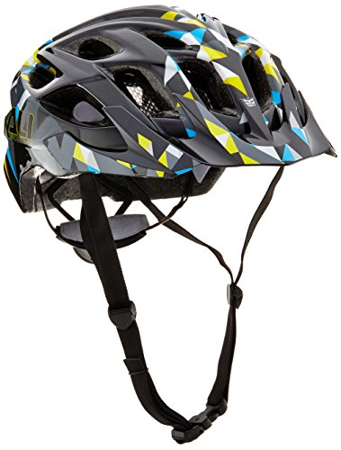 Cross Kali (Kali Protectives Chakra Plus Bike Helmet, Shred Black, Medium/Large)