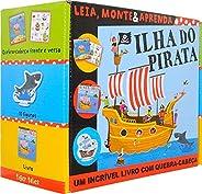 Ilha do pirata: Leia, monte e aprenda