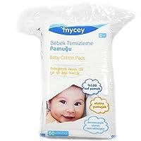 MYCey Bebek Temizleme Pamuğu, Beyaz