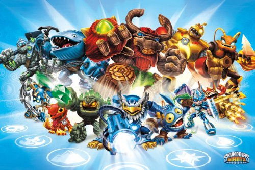 Skylanders Giants - Gaming Poster (Group) (Size: 36 inches x 24 inches)