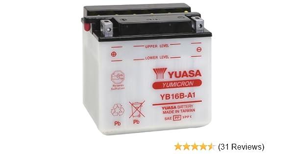 Yuasa YUAM22161 YB16B-A1 Battery