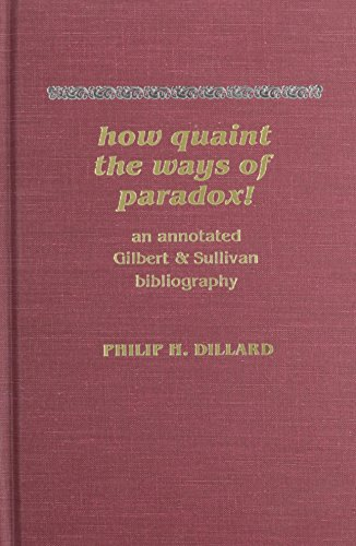 How Quaint the Ways of Paradox! by Brand: Scarecrow Press