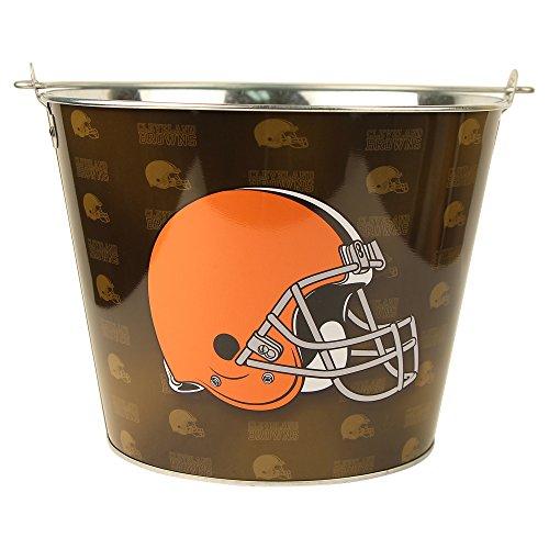 NFL Full Color Team Logo Aluminum Beer Bucket (Cleveland -