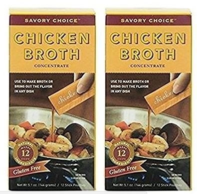 (Savory Choice Chicken Broth Concentrate, 5.1 Ounce (Pack of 2))