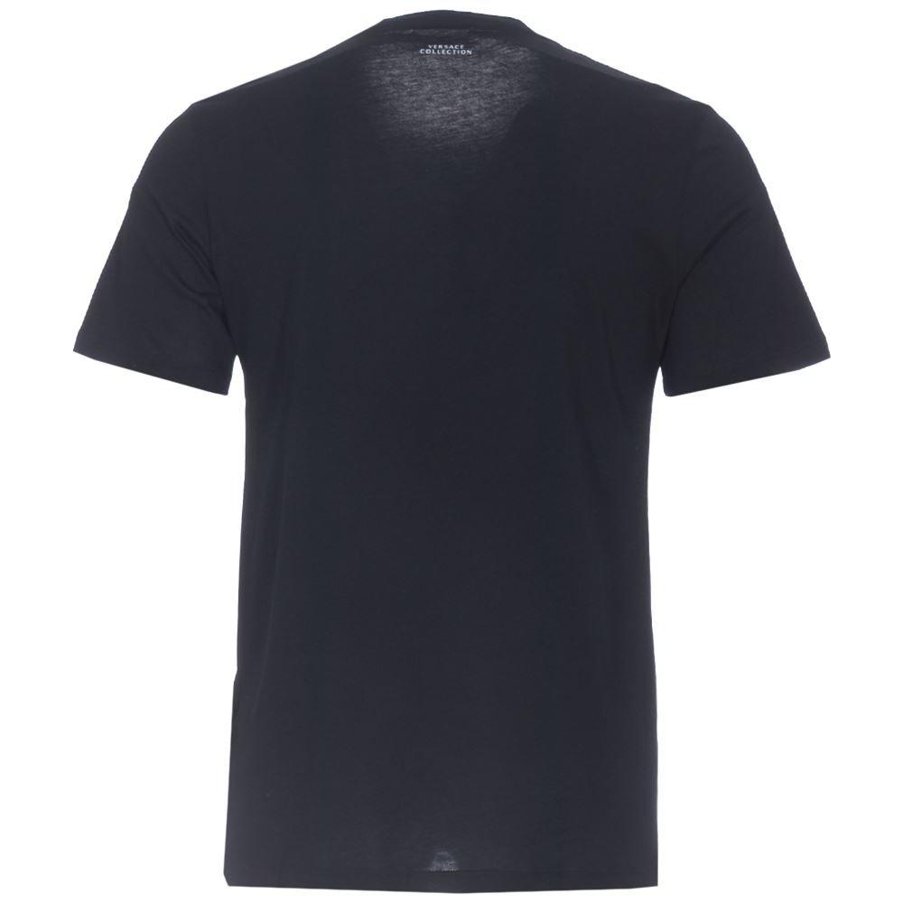 87da629a Amazon.com: Versace Collection Black Half Medusa T-Shirt: Clothing