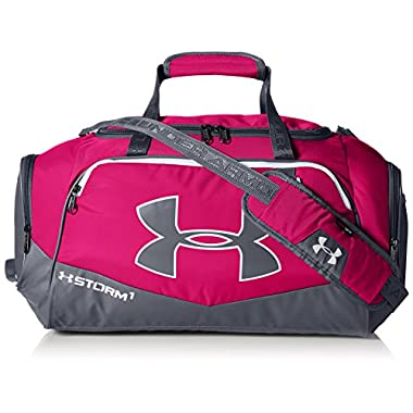 Under Armour Storm Undeniable II SM Duffle, Tropic Pink/Graphite, One Size