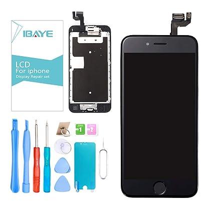 grande vendita data di uscita di bell'aspetto Ibaye Display LCD Schermo per iPhone 6S Nero (4,7 Pollici) Touch ...
