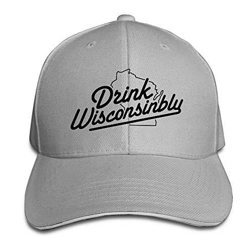 708535f5464 Itry Drink Wisconsinbly in Cute Fonts Baseball Cap Golf Hat