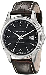 Hamilton Men's H32515535 Jazzmaster Analog Display Brown Watch