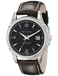 Hamilton Men's H32515535 Jazzmaster Dial Watch, Black