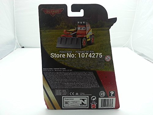 Pixar Cars Diecast 2 Fire & Rescue No.10 Pinecone Original Boxed Brand New Metal Toy Car
