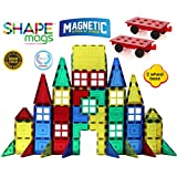 Magnetic Stick N Stack 154 pc's MEGA Set 152 magnetic tiles Plus 2 Wheel Bases (view all photos)