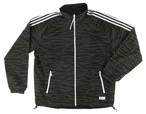 Reversible Jacket Adidas (adidas Mens Reversible Track Jacket Army Green XL)