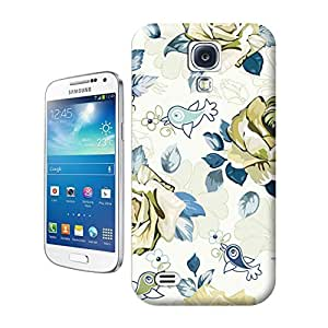 Unique Phone Case Pattern Flowers Hard Cover for samsung galaxy s4 cases-buythecase