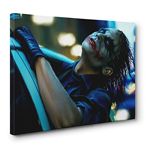 Batman Dark Knight The Joker's Joy Ride Gallery Canvas Wall Art (Ready To Hang) (32x48in.)