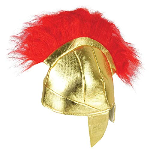 Rimi Hanger Adults Roman Gladiator Fabric Helmet Hat Childrens Book Day Headwear Accessories Adult -