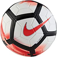 NIKE Strike Soccer Ball (White/University Red/Black, 5)
