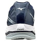 Mizuno Women's Wave Lightning Z2 Volleyball Shoes - White & Navy
