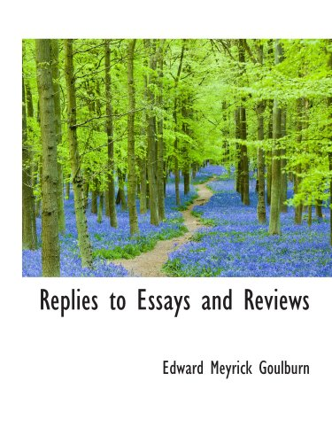 Download Replies to Essays and Reviews pdf