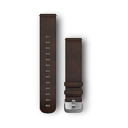 Garmin 010-12691-01 Accesorio de Relojes Inteligentes Grupo de Rock Marrón Cuero -