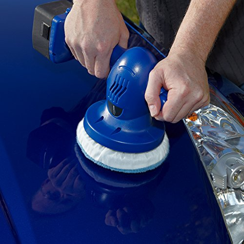 """AutoRight Cordless Detailing Polisher 6"""" Inch C900124.M Orbital Buffer, Cordless Buffer for Waxing Vehicles, RVs and Boats, Car buffer, Car polisher by AutoRight (Image #5)'"""