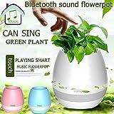SHOPEE NU1118 Flower Pot Shaped Bluetooth Speaker (Assorted)