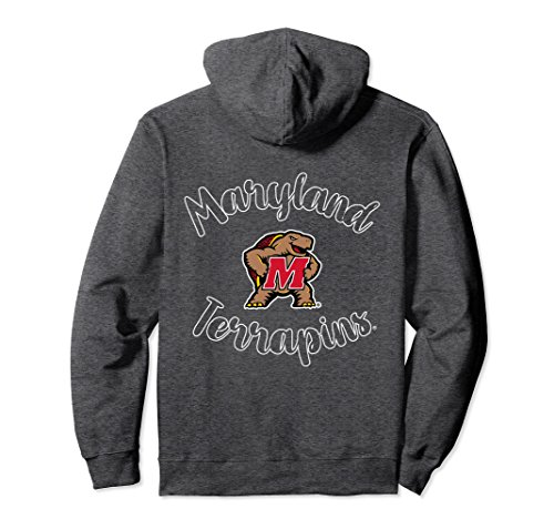 Unisex Maryland Terrapins TERPS Women's Cozy NCAA Hoodie RYLMD02 Small Dark (Maryland Terps Ncaa Hoody)
