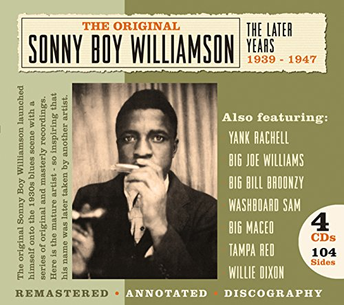Sonny Boy Williamson - The Bluebird Recordings 1937 - 1938 - Zortam Music