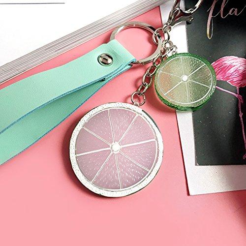 Skyeye Keychain Pitaya Acrylique Fruits Cordon Cuir Pendentif Porte-Cl/és de Voiture Porte-Cl/é Bi/ère D/écapsuleur Porte-Cl/és de Voiture en M/étal Keychain Ananas