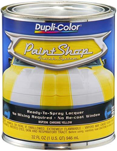 Dupli-Color BSP206 Chrome Yellow Paint Shop Finish System - 32 oz.