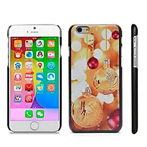 HaleyL-Stylish Patterned Hard Plastic Snap On Case for iPhone 6 Plus