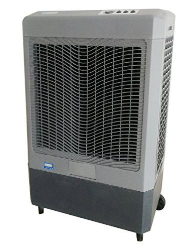 Cheap Hessaire Products MC61M Mobile Evaporative Cooler, 5,300 CFM, Gray