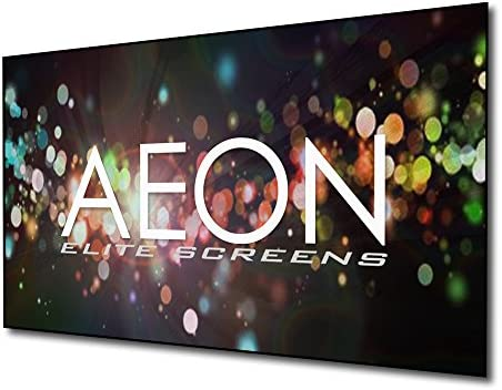 f48a4ad21 Elite Screens Aeon CineGrey 3D Series, 120-inch 16:9, Ambient Light  Rejecting Fixed Frame Edge Free Projection Projector Screen, AR120DHD3