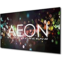 Elite Screens Aeon, 120-inch 16:9, 4K Home Theater Fixed Frame EDGE FREE Borderless Projection Projector Screen, AR120WH2