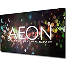 Elite Screens Aeon, 200-inch 16:9, 4K Home Theater Fixed Frame EDGE FREE Borderless Projection Projector Screen, AR200WH2